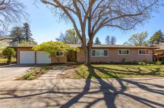 Sold! |  LOVELY remodeled 4 bedroom (plus bonus room), 2.5 bath home in central location | 1297E. Lindo Ave. | Chico, CA | $400,000