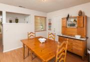 Eating area facing front door | 2130 Ramsey Way Chico, Ca