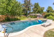 Pool & large backyard | 2130 Ramsey Way Chico, Ca