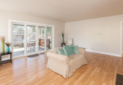 Double sliding doors allow for indoor/outdoor living _401 W.6th Ave.