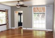 Living room to front door