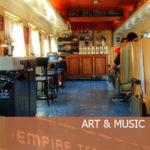 Empire Coffee…in a train car!